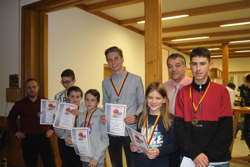 Jahresabschlussfeier beim TTC Köllerbach